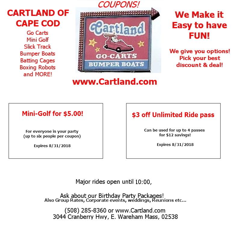 Cartland Coupons
